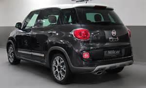Fiat L Trekking Milcar Automotive Consultancy 187 Fiat 500 L Trekking 2016