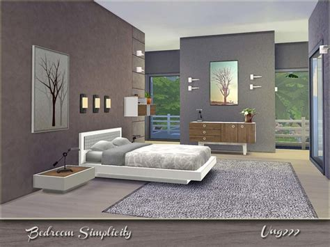 custom schlafzimmer sets the sims 4 custom content bedroom simplicity set