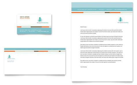 business consultancy letterhead template management consulting business card letterhead template
