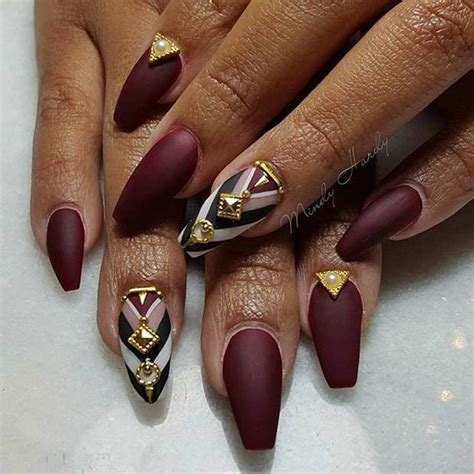 31 Trendy Nail Art Ideas for Coffin Nails   Page 3 of 3