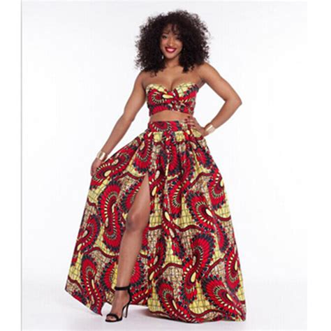 african print party dress traditional dashiki african print dresses 2 pieces midriff