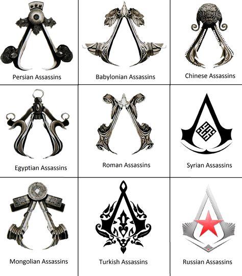 assassins creed tattoo meaning assassins symbols by 575750 on deviantart