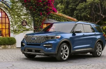 ford explorer st colors release date redesign