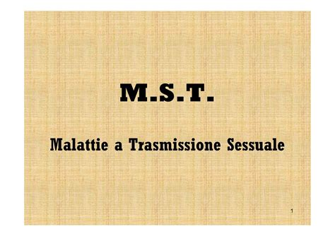 malattie sessualmente trasmissibili test malattie sessualmente trasmissibili dispense
