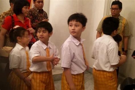 anak ahok satu harapan demi berantas korupsi ahok bercita cita