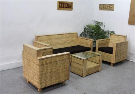 furniture sofaset rattan sofaset and bamboo