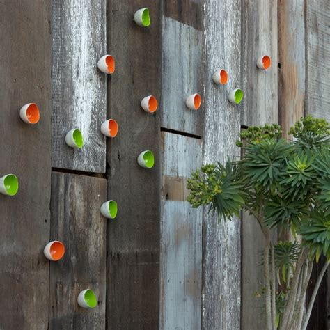 funky garden wall play ornament