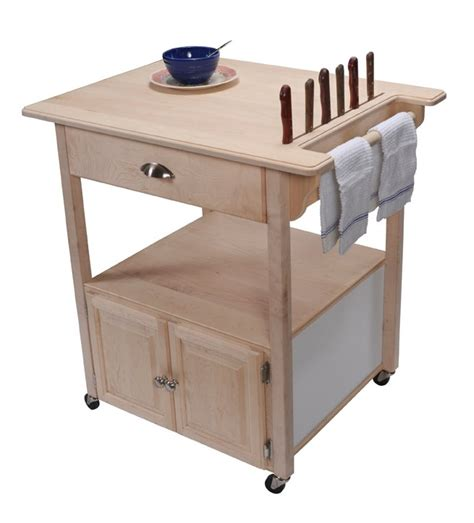 Rolling Kitchen Cart by Mlcs Project Plans