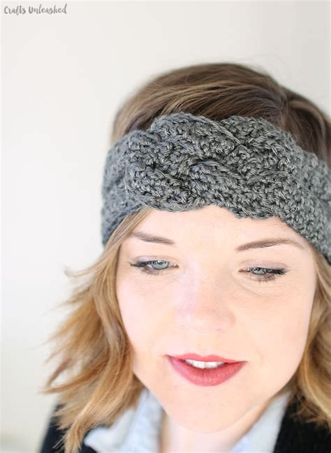 pattern headbands crochet headband pattern with sailor knot detail