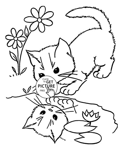 nature cat coloring page sarnat and sarnat related keywords sarnat and sarnat