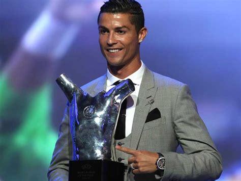 cristiano ronaldo named uefa player  season