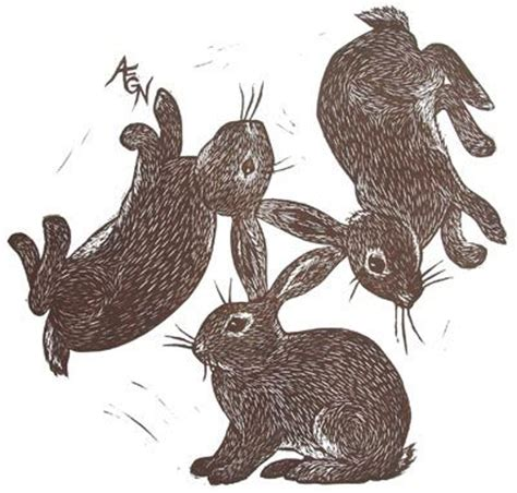 hare rubber st 17 best images about themed prints rabbits on