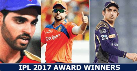 Ipl Winning Team Prize Money 2017 - ipl 2017 complete list of award winners and their prize