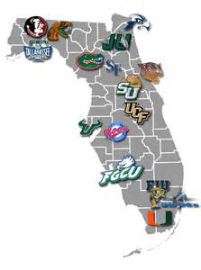 florida universities map deboomfotografie