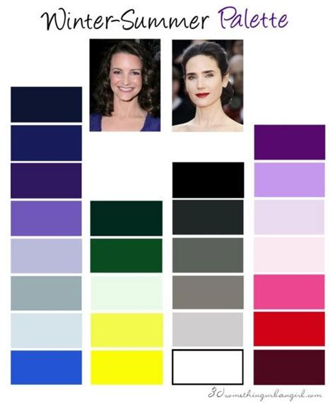 celebrity skin tones summer 223 best color analysis true cool winter images on