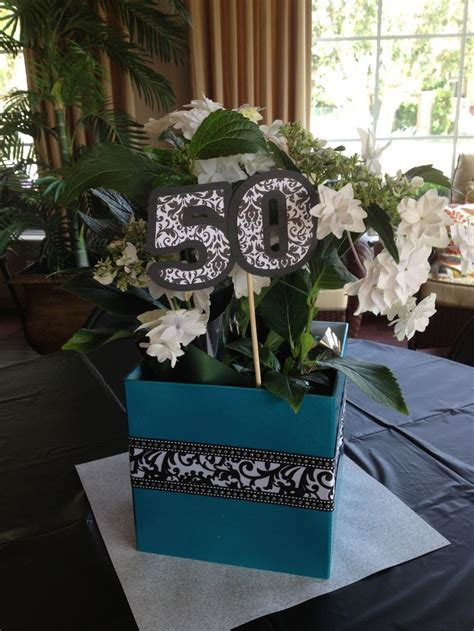 centerpieces for 50th birthday 50th birthday centerpieces