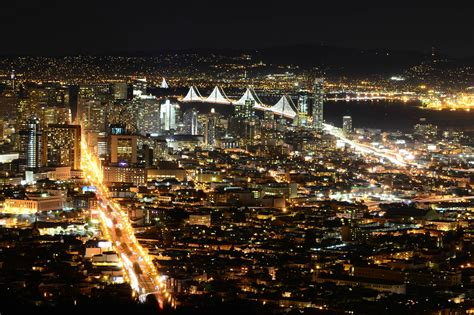 san francisco  night wallpaper gallery