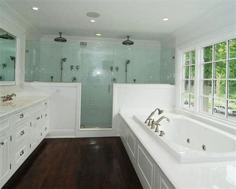 master bathroom remodel with double sink mahwah nj double shower houzz