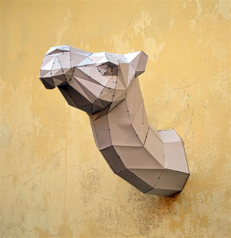 Cardboard Papercraft - make your own camel sculpture camel papercraft
