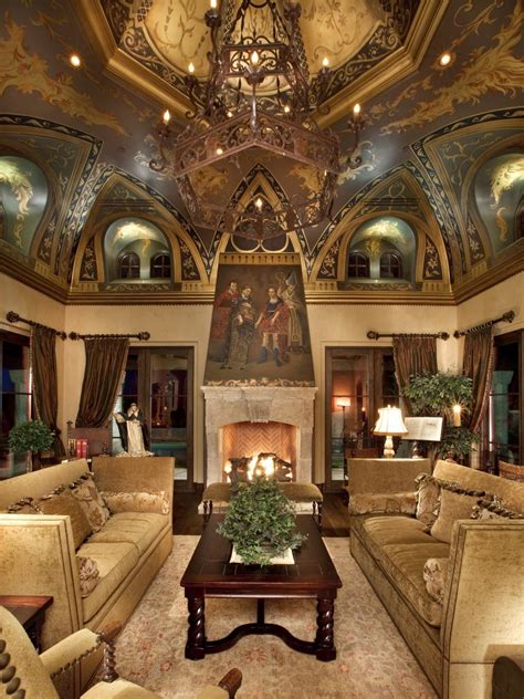 tuscan inspired living room old world design ideas hgtv