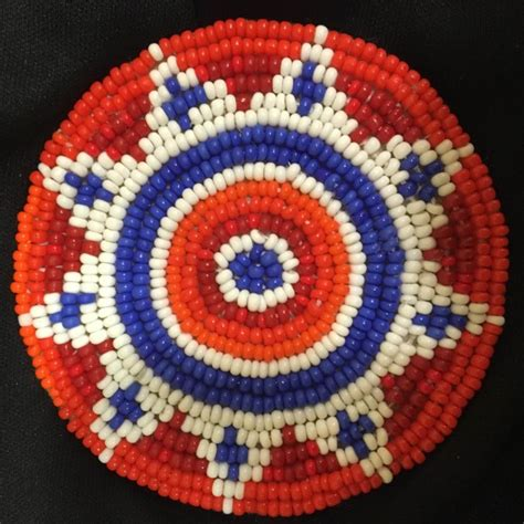 beaded rosette american beaded rosettes researched and conserved