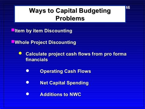 Mba Project On Capital Budgeting by Lecture5 Mba