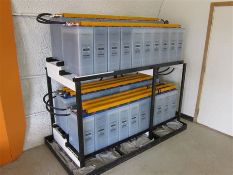 Battery Rack by Spill Containment For Battery And Rack