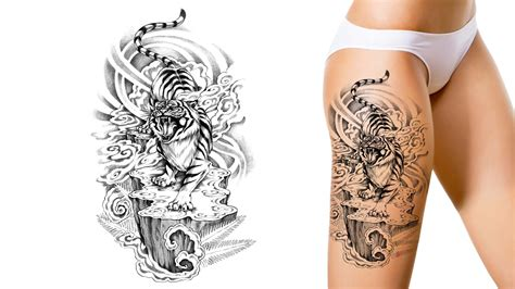 customised tattoo designs tiger you it we draw it get started on