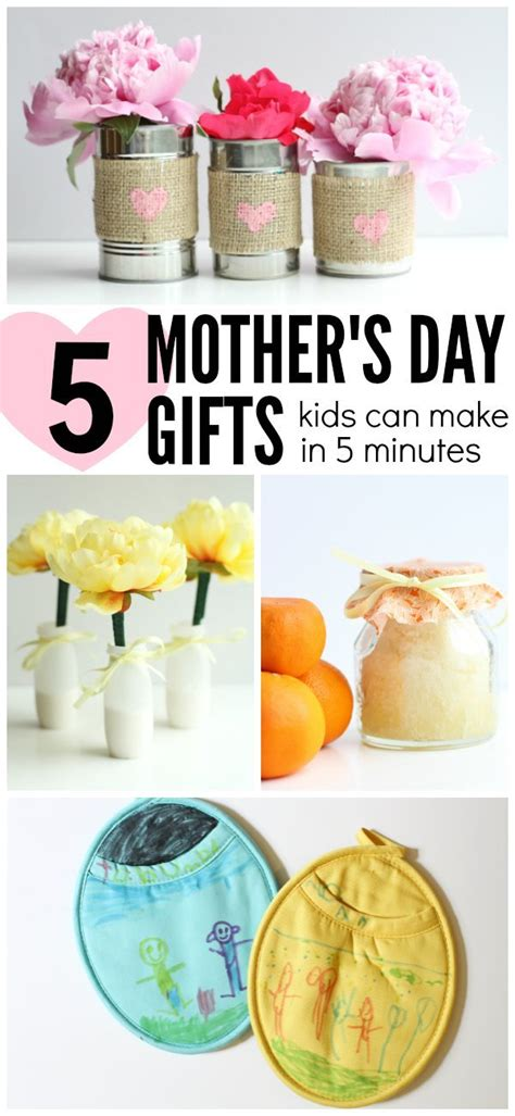 5 s day gifts can make in 5 5 mother s day gifts can make in 5 minutes or less