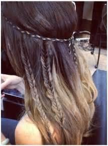 Cute braid hairstyle for long hair girls hairstyles via
