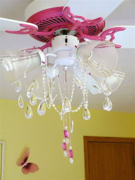 Ceiling Fan Pink by The Attractive Chandelier Fan Decoration For Any Rooms