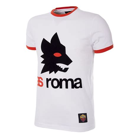 Tshirt As Roma 1 shop as roma retro logo t shirt 6733 buy copa