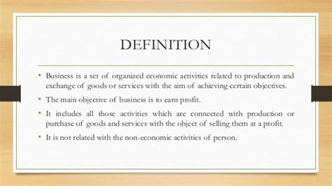 Earn Mba Definition by Business Environment Definition Objectives