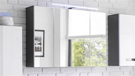 Spiegelschrank Grau by Spiegelschrank Manhattan In Grau Mit Led Beleuchtung F 252 R Bad