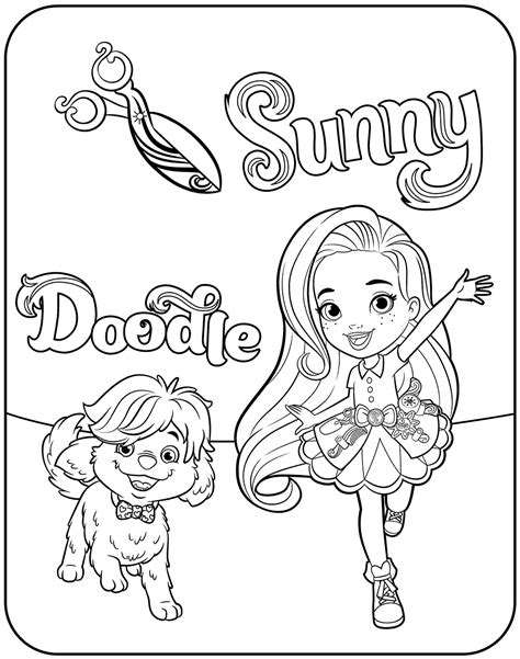 coloring page sunny day sunny day coloring coloring coloring pages
