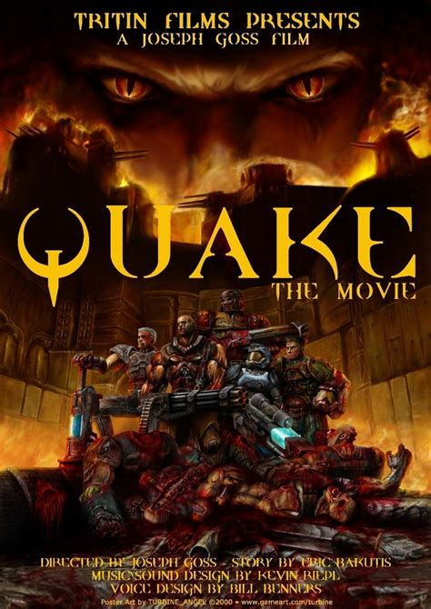 earthquake film quake 3 fan art quaddicted com