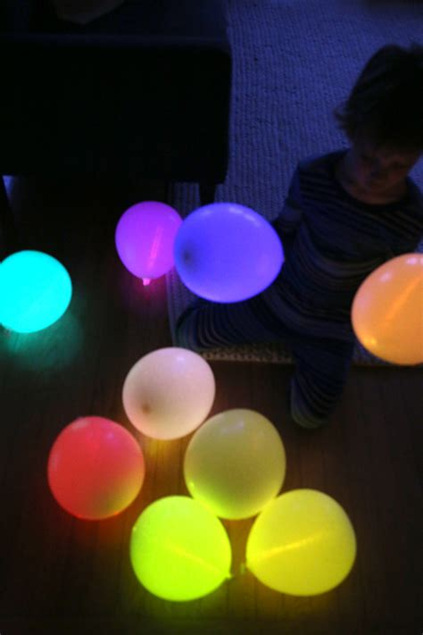 glow in the balloons diy glow stick balloons handykraft