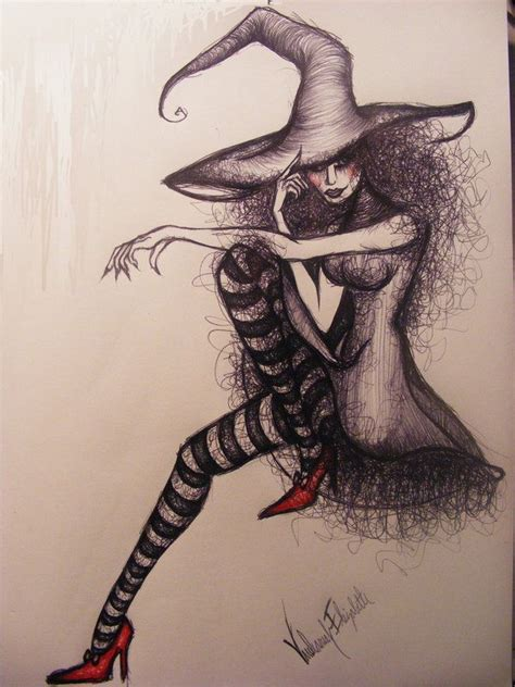 evil witch drawing google search witch drawing