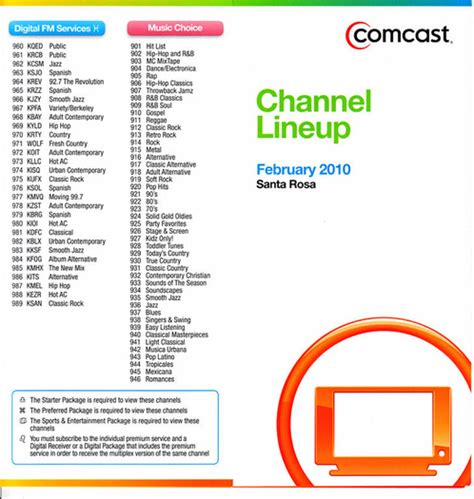 printable comcast digital channel guide san francisco ca comcast page 431 avs forum home