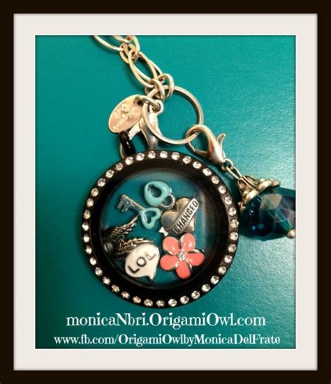 Things Like Origami Owl - here is my new black locket from origami owl just it
