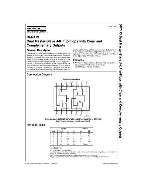data fairchild semiconductor