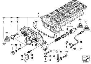 original parts for e46 320i m52 sedan engine cylinder vanos estore central