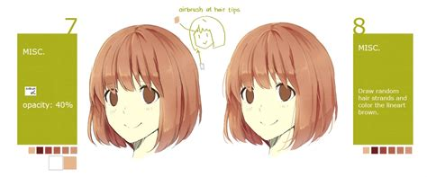paint tool sai drawing hair painttool sai hair tutorial free3dtutorials