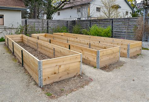 How To Build A Raised Garden Bed With Sleepers by How To Make A Raised Bed For Your Garden