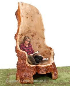 tree stump chair log tree chair cabin chair burl wood chair