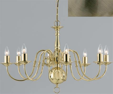 Flemish Brass Chandelier Flemish Style Solid Polished Brass Traditional 3 Light Chandelier Universal Lighting