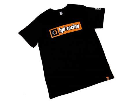 tshirt hpi racing bdc 107467 hpi classic t shirt black