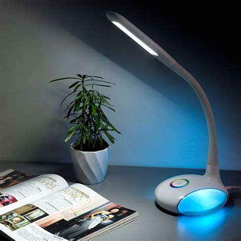 multi light desk l multi color base desk l touch sensor q led table light