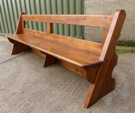 bench in a church bexhill open back bench church pew top trade supplier