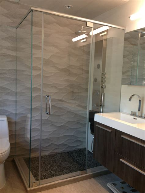 Semi Frameless Shower Doors by Semi Frameless Shower Door Bathroom